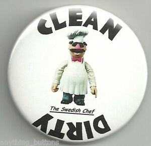 The-Muppets-The-Swedish-Chef-Clean-Dirty-Dishwasher-Button-Type-Magnet-2-1-4