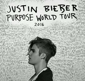 2 standing Justing Bieber Tickets