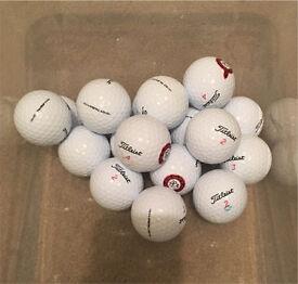 20 Grade A Titleist DT Trusoft golf balls