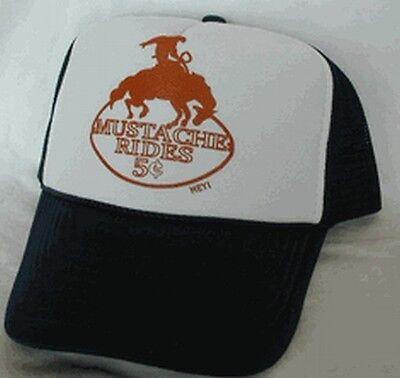 Mustache Rides 5 cents Trucker Hat Mesh Hat Snap Back Hat brown funny hat](Trucker Mustache)