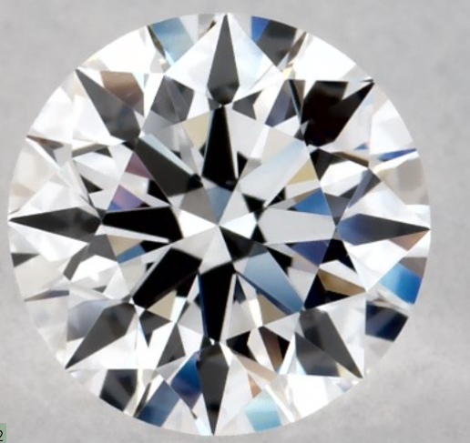 0.62 CTW H Color I1 Clarity GIA Certefied Natural Round Brilliant Cut Diamond