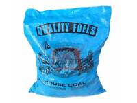 HOUSE COAL 20KG TOP QUALITY SUPPLIED IN SEALED BAGS WINTER FUEL LOGS