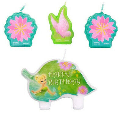 BEST FRIEND FAIRIES  Birthday Party cupcake CAKE CANDLES Tinkerbell 4