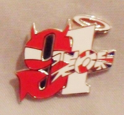 *NEW* Leon Haslam 91 enamel badge.,Moto GP, Superbikes.