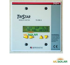 MorningStar-TriStar-TS-RM-2-Solar-Panel-Charge-Controller-Meter
