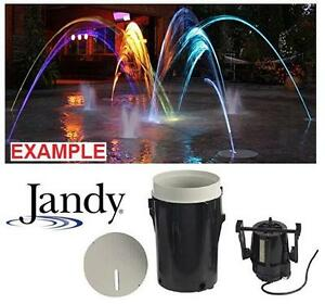 NEW* JANDY POOL LAMINAR JET - 132567951 - with Fiber Optic-ready Module
