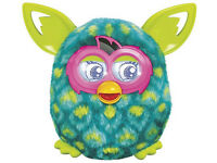 Furby Boom Sunny Electronic Plush Green Peacock