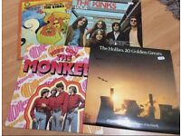 The Monkies, The Kinks & The Hollies Records