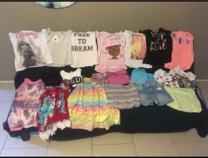 Girls clothes size 6-8