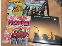 The Kinks / The Hollies & The Monkies records