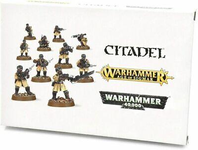 Warhammer 40k Imperial Guard - Astra Militarum Steel Legion Squad NEW in BOX