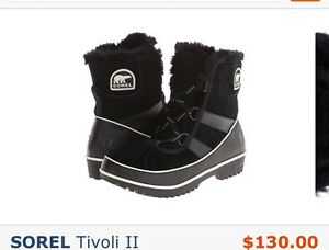 Sorel winter boots brand new never used waterproof size 6.5