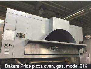 Pizza oven Bakers pride, gas, model 616 ( also we have blodgett and  garland pizza ovens)