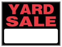 YARD SALE at 267 Patterson Dr.