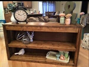 Rustic Country Chic Sofa Table Belleville Belleville Area image 3