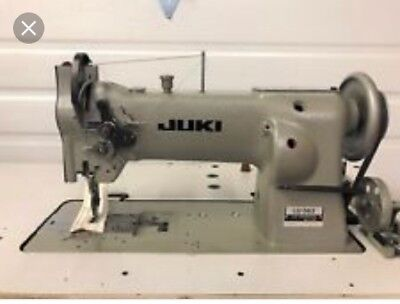 Juki LU-563 COMPOUND FEED WALKING FOOT INDUSTRIAL SEWING MACHINE For Upholstery