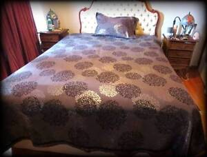 Quilt Cover - chenille jacquard  ( Q. size ) Phillip Woden Valley Preview