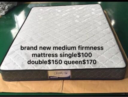 【BRAND NEW】medium firmness mattress double$150 queen$170 delivery