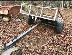 Utility trail to haul by 4 wheeler / side by side