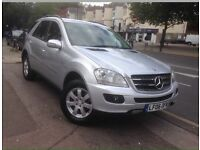 Mercedes Benz M Class, Silver, Auto, 2 Owners, FSH, Superb condition.