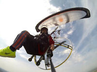 Paramotor Pilot School - Learn to take off, fly & land professional in 1 week. 5 Star Tuition