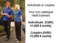 Full Time Distribution. Individuals £20K Couples £45K