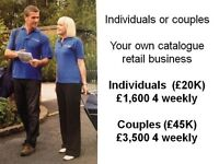 Full Time Individuals or Couples £20K to £45K