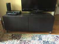 Beautiful TV stand with two cabinets