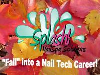 Fall into a Nail Technician Career Training Starts October 25th.