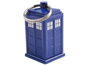 DOCTOR WHO TARDIS Emergency Fund Keychain dr NEW secret cash pocket keyring