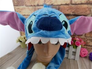Disney World LILO STITCH Hallowmas Costume Plush Hat Ph035