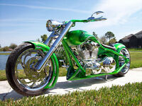 Motocyclette Custom Chopper Harley-Davidson Laval / North Shore Greater Montréal Preview