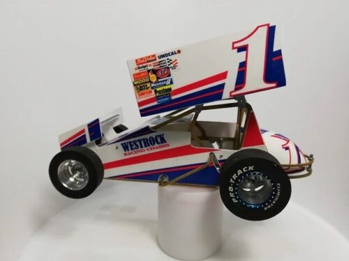 1/24 scale Slot Car Sprint Car kit