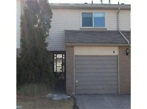 Three Bedroom End Unit Townhouse with finished basement!