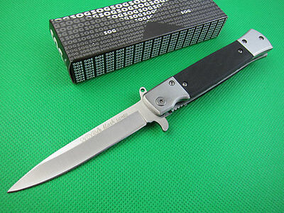 A++ Assisted Opening SOG Knife Tactical Rescue Fishing Folding Pocket Saber Gift ()