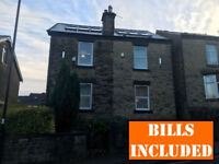 Great 4 BEDROOMED student house located within walking distance to Uni of Sheffield. BILLS INCLUDED