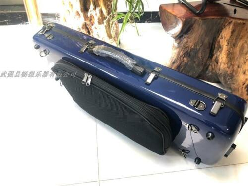 "Strong Hard Glass fiber adjustable viola case 15""-17"" with Music bag"