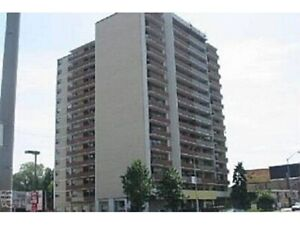 Furnished 1 bdrm apartment in North York.