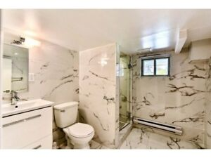 LUXURY PREMIUM NDG 3 BDR LOWER DUPLEX FULLY RENOVATED FOR RENT
