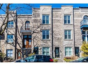 Victorian style renovated apartment on three levels! Westmount