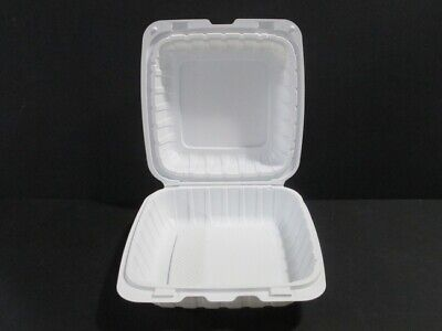 Takeout Hinged Lid Food Container - 200case - Kuki Collection