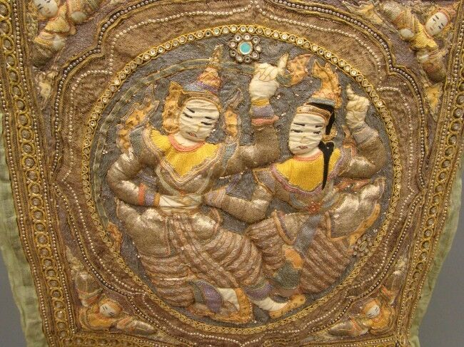 20th Century A.D. Thai Tapestry