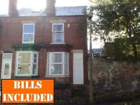 4 bedroomed student house close to local shops and in great location for access to Uni. BILLS INC!