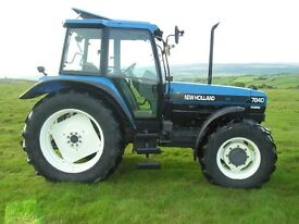 Wanted New Holland 7840 turbo