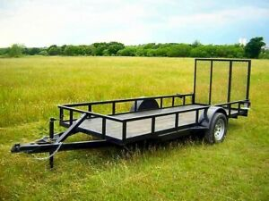 Pickup truck & utility trailer for hire
