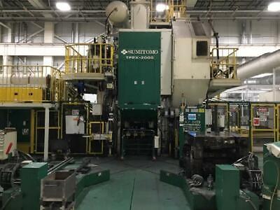 2000 Ton Sumitomo Hot Forging Press Line Year 2006 4 Stage Transfer System  Sl