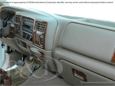 550 Wood Dash Kit (Dash Trim Kit for FORD F-250/350/450/550 03 04 carbon fiber wood)