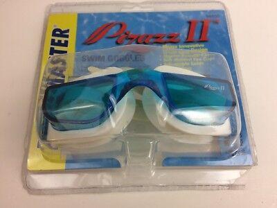 Poolmaster Pizazz II Swim Pool Goggles Swimmers Men Women Lake Ocean Goggle Blue