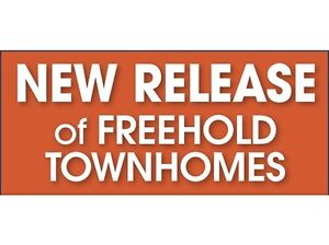 FREEHOLD TOWNHOMES FOR SALE IN BRAMPTON FROM HIGH $500s VIP
