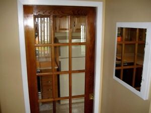 A large 3 bedroom and 2 bathroom basement apartment.